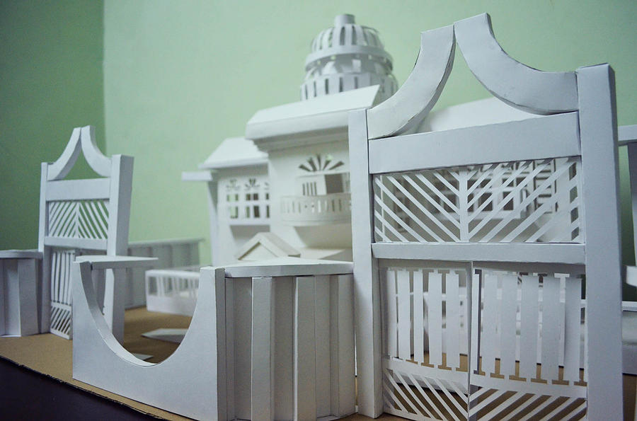 Paper Sculpture Designs by Mohit Lakhmani