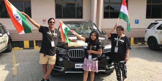 Badri Baldawa - The man who drove from Mumbai to London