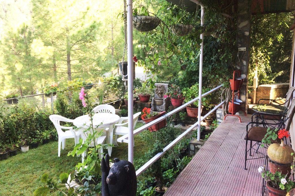 Club-10 Pine Lodge Garden View