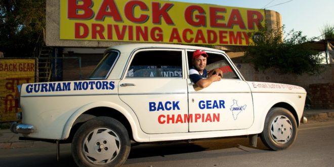 Harpreet Dev - The Man who drives in Reverse Gear