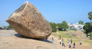 Krishna's Butterball, Mahabalipuram - A Stone that defies Gravity