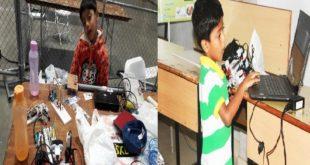 Saarang Sumesh - India's Youngest Robot Maker