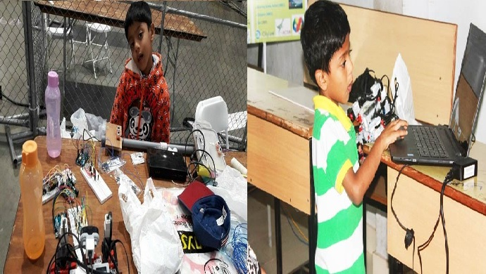 Saarang Sumesh - India's Youngest Robot Maker