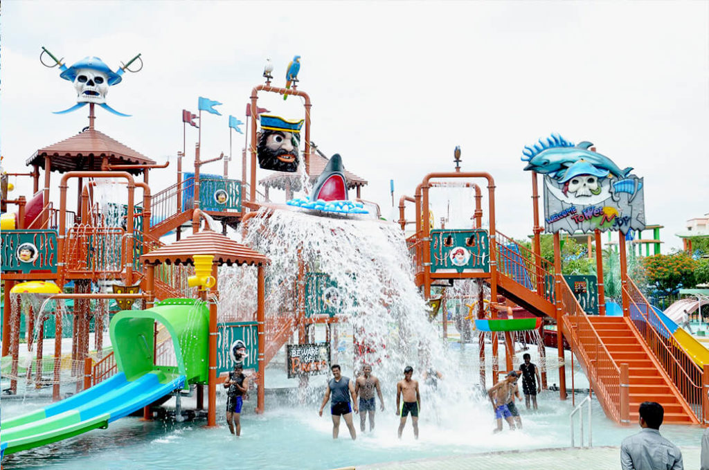 Wet n Joy Water Park in Shirdi