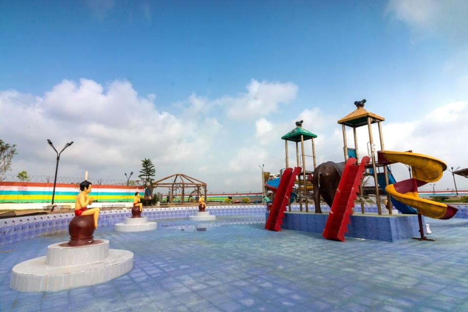 Pratyush Ocean World Water Park in Puri Orissa