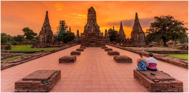 Take a tour of Ayutthaya