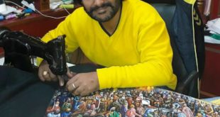 Arun Kumar Bajaj - The only Sewing Machine Artist in the World