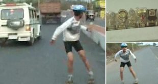 Prayatna Sharma - World's Fastest Reverse Skater from Gwalior