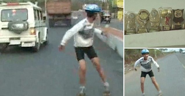 Prayatna Sharma - World's Fastest Reverse Skater from Gwalior