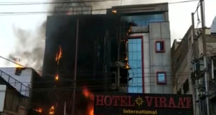 5 killed in major fire in 2 Lucknow hotels