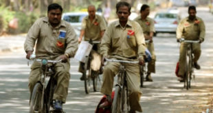 A massive 400% salary hike for rural postmen of the country