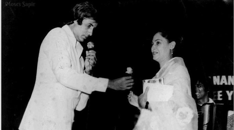 Amitabh Bachchan shares a throwback picture with Jaya Bachchan on their 45th Wedding Anniversary