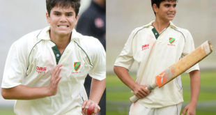 Arjun Tendulkar made it to Under-19 squad for Sri Lanka Tour