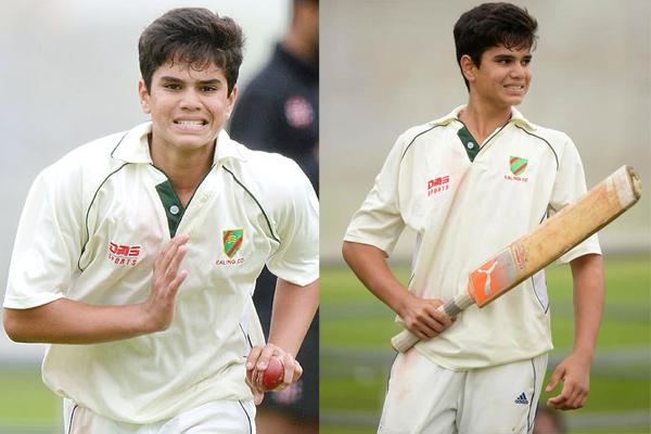 Arjun Tendulkar made it to Under-19 squad for Sri Lanka Tour