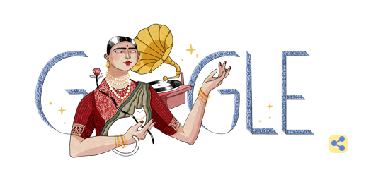 Google doodle remembers Gauhar Jaan, the legendary singer-dancer