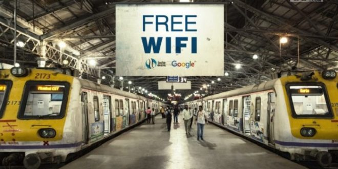 Google's fee WiFi now at 400 Railway Stations in India