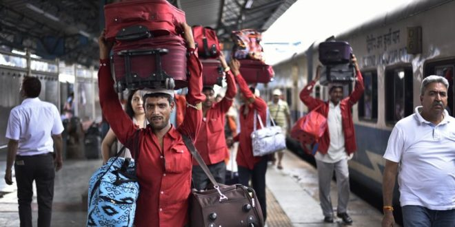 Indian Railways will levy Huge Fine For carrying Excess Luggage in Trains