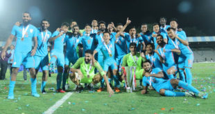 Intercontinental Cup 2018 Final Sunil Chhetri helps India beat Kenya 2-0