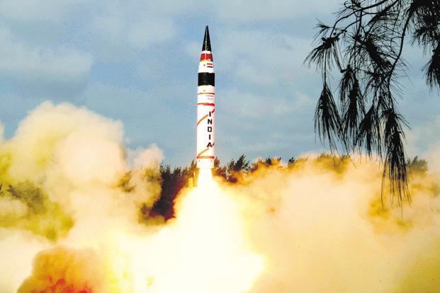 Nuclear-capable Agni-5 successfully test-fired by India