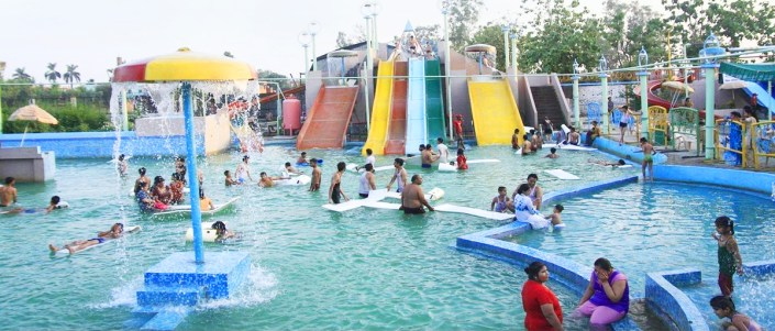Prem Wonderland Water Park in Moradabad