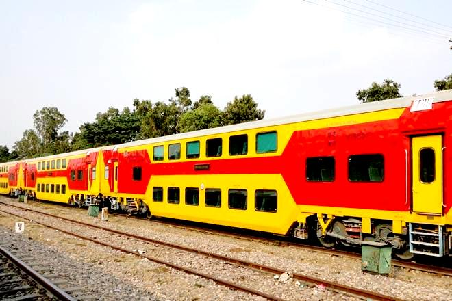 Uday Express- Double Decker Coimbatore-Bengaluru to be flagged off on June 8