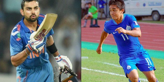 Virat Kohli's Message For captain Sunil Chhetri, Football Team After Mumbai Win