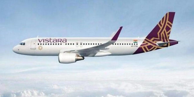 Vistara Airlines plans expansions to international routes, bought 19 Planes