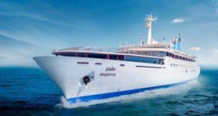 Angriya Cruise- 131-meter long Mumbai-Goa luxury cruise with Capacity of 400 passengers