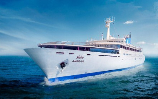 Angriya Cruise- 131-meter long Mumbai-Goa luxury cruise with Capacity of 400 passengers