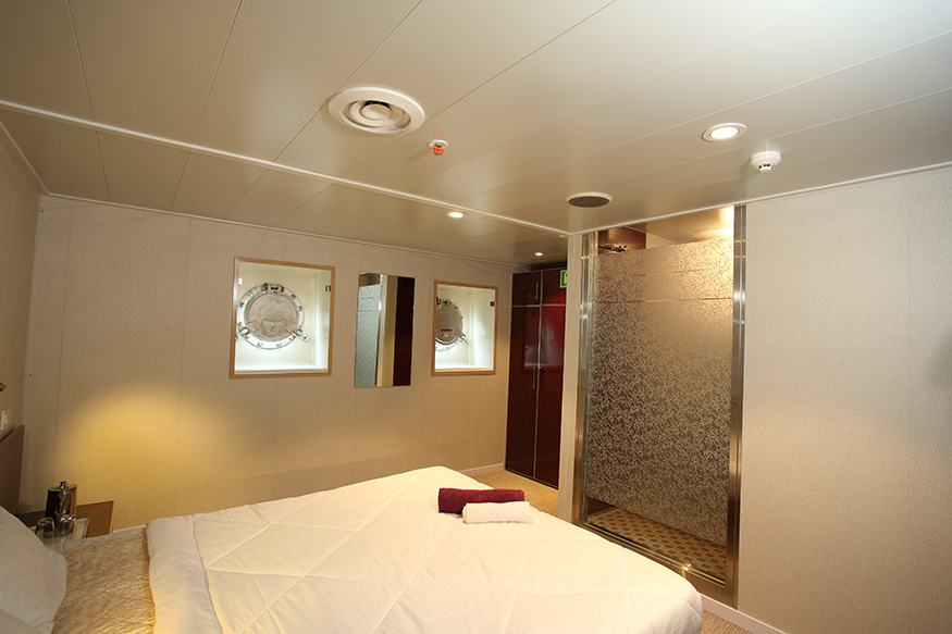 Angriya Cruise - Mumbai to Goa Rooms