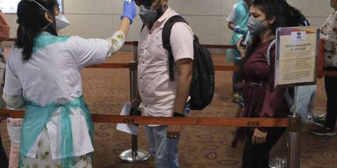 Four health personnel who screened patients at Hyd airport test positive for COVID-19