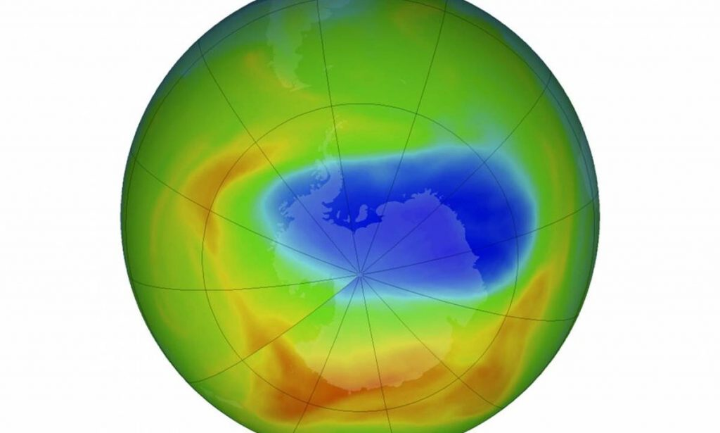 Historic ban on hairsprays helps ozone layer to heal