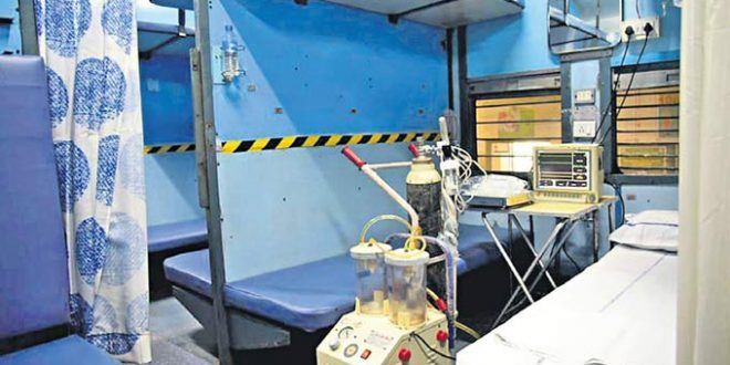 Train Coaches Converted Into Isolation Wards For COVID-19 Patients
