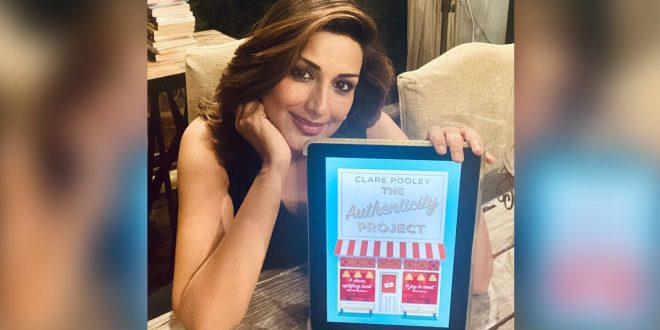 Actress Sonali Bendre Starts the New Year Reading a New Book