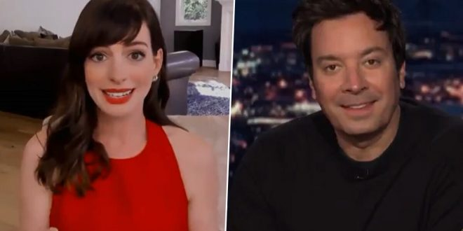 Anne Hathaway Says Everyone Has Been Calling Her by the Wrong Name, Actress Reveals the Correct Pronunciation of Her Name (Watch Video)