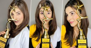 Shehnaaz Gill Gets Awarded by Her Fans for Being the 'Best Idol', Cherishes Their Love and Support!