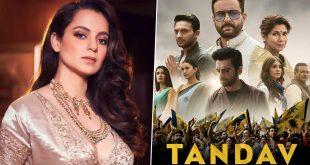 Tandav: Kangana Ranaut Slams Ali Abbas Zafar, Saif Ali Khan's Show Via a Harsh Tweet, Calls it 'Creatively Poor, Hindu Phobic, Atrocious'