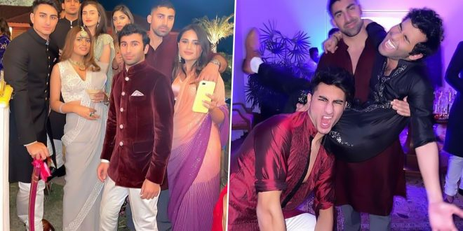 Ibrahim Ali Khan Is a Royal 'Munda' at Punjab CM Amarinder's Granddaughter's Wedding (See Viral Pics)